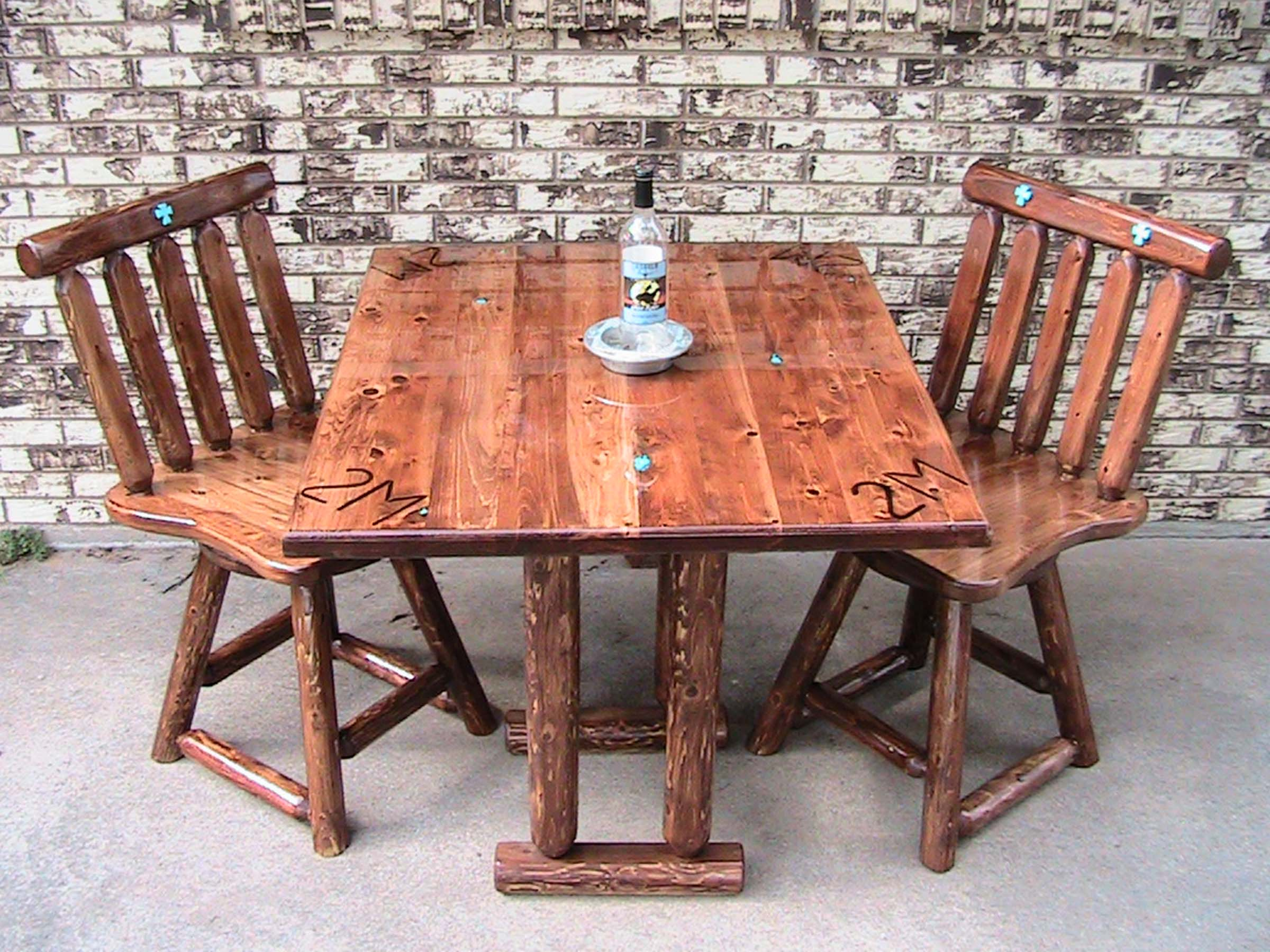 Yoder Brothers Log Furniture North Texas Farm And Ranch