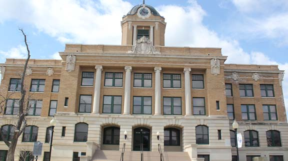 The Cooke County Courthouse is located in Gainesville, TX. (Photo by Shannon Gillette)