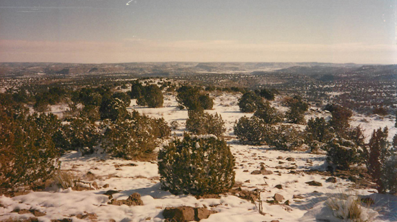 Winter on Trigg Ranch in northeastern New Mexico west of Amarillo. (Photo by Clay Reid).