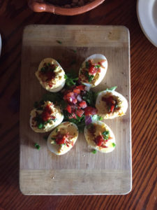 Horseshoe Hill- Texana Deviled Eggs Appetizer. (Photos courtesy of Steve Stevens)