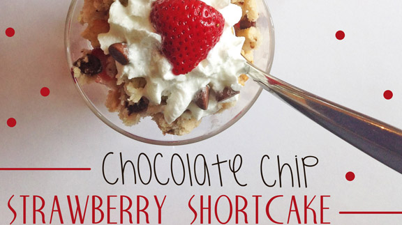 """""""Berries are one of my favorite things about summer. Here's a yummy, chocolatey twist to your traditional Strawberry Shortcake."""" ~Courtney McEwen  (Photo by Courtney McEwen)"""