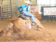 Barrel racers top priority is the dirt for safety of their horse. D&D Productions, Chuck Dunn has perfected the art of working up dirt in the arena. (Photo courtesy of Chuck Dunn)