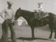 George Seals with his son, David horseback. (Photo courtesy of George Seals)