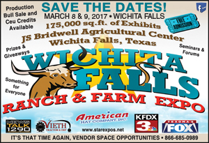 Wichita Falls Ranch & Farm Expo @ JS Bridwell Ag Center | Wichita Falls | Texas | United States